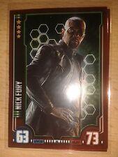 Hero Attax Marvel Cinematic Universe Mirror-Karte Nr.46 Nick Fury Sammelkarte