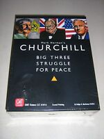 Churchill: Big Three Struggle for Peace [2nd Printing] (New)