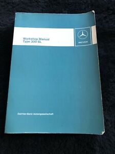 Mercedes-Benz 300SL Gullwing Coupe Roadster 1954-63 Workshop Service Manual OEM