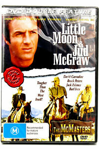 Double Feature (Little Moon and Jud McGraw The McMaster DVD SEALED +Free Post)