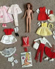 Vintage 1963 Skipper Doll and 6 Outfits