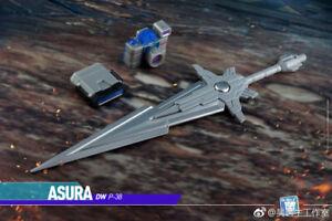 Dr.WU DW P-38 ASURA Sliver Sword Upgrade kit for MP36,In stock!