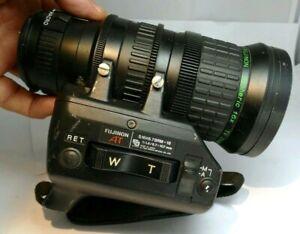 Fujinon S16x6.7 BRM-18 Lens Broadcast TV Zoom Aspheric. 6.7-107mm f1.4