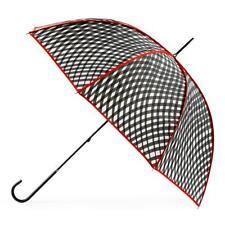 Totes Elegant Walker Umbrella - Wavy Check