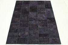 Patchwork Tappeto Orientale Vintage 200x150 lilla chic Aspetto Usato