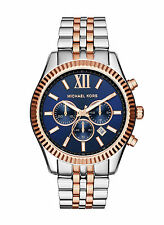 NEW Michael Kors MK8412 Lexington Men´s Two Tone Stainless Steel Watch