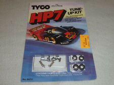 NEW ON CARD TYCO HP7 TUNE-UP KIT NO 6673 HO SCALE SLOT CAR VINTAGE 1990 TIRES >>