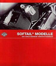 Harley Softail 2007 in Deutsch Werkstatthandbuch & Elektrischen Diagnose FLSTN