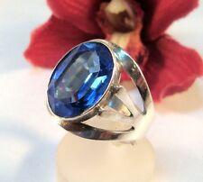 Bague de Bleu Bijoux Pierre Argent 835 fingerring/Soutien-gorge 440