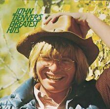 John Denver.  GREATEST HITS.     *** RARE US IMPORT / REMASTERED / BONUS TRACKS.