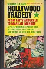 HOLLYWOOD TRAGEDY ~ LANCER 72639 PBO 1962 WILLIAM CARR MARILYN MONROE TRUE FACT