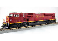 NEW Kato HO Locomotive EMD SD90/43MAC San Luis & Rio Grande #116 DCC Ready