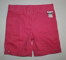 New Crazy 8 Pink Bermuda Shorts with Kitty Cat Embroidered Size 4T Nwt Girls