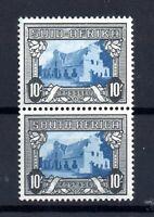 South Africa 1933-48 10/- Vertical Pair LHM SG#64BA WS16640