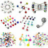 7pcs Glow in the Dark Belly Button Navel Bar Rings Piercing Jewelry Fashion GOI