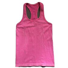 LULULEMON Run Swiftly Tech Racerback Tank  Sz 4 Free Ship