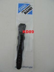 Genuine Casio Rubber Strap Band 10129723 14/19mm