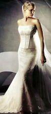 Oleg Cassini wedding Dress Style CK 118 Champagne Size 18w