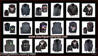 Gilet jacket Vest en Cuir Leather - Grande taille - S à 7XL - Biker Country NEUF