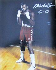 "Ed ""Too Tall"" Jones Signed Dallas Cowboys 16x20 Boxing Photo w 6-0 Inscription"