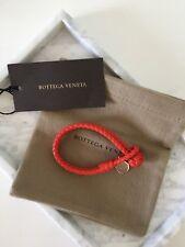 11e6bcdaf221 Bottega Veneta Intrecciato Nappa Leather Bracelet Size S