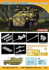 Dragon 7315 1/72 Plastic WWII German Sd.Kfz. 252/7 Ausf.C with 28mm sPzb.41