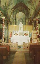 "*Hawaii Postcard-""St Benedict's Catholic Church"" /aka;Old Painted Church/ (U1-1)"