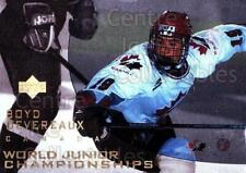 1996-97 UD Ice #122 Boyd Devereaux