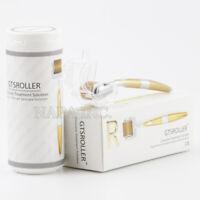 192 Titanium Needles Derma Roller Micro Needle Therapy Skin Scars Anti Aging MTS