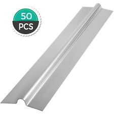 4ft 50pcs Aluminum Radiant Floor Heat Transfer Plates For 38 Pex Tubing