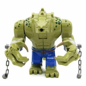 Killer Croc [Crocodile Killer] - Batman Movie Minifigure Block Fit Lego Kid Toy