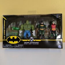 DC The Caped Crusader Swamp Showdown Killer Croc, Batman, Robin NEW 2020