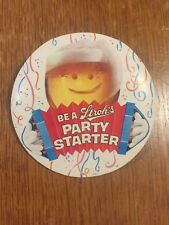 """""""Vintage"""" Be A Stroh's Party Starter cardboard pinback button"""
