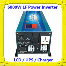 24000W/6000W LF Pure Sine Wave 12VDC/110V AC 60Hz Power Inverter LCD/UPS/Charger