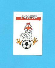 CALCIO 1988-EUROFLASH-Figurina-MASCOTTE-PADOVA-NEW