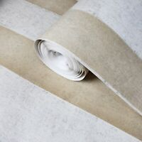 Wallpaper flocking lines rustic beige Flocked striped velvet flock stripes 3D