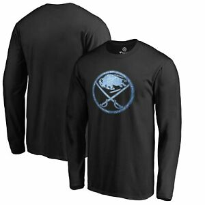 Buffalo Sabres Pond Hockey Long Sleeve T-Shirt - Black