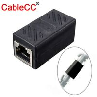 CAT6 CAT5E Female to Female Connector Ethernet Network Cable Extension Adapter