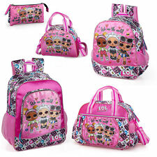 LOL SURPRISE Backpack PREMIUM Rucksack Nursery School Lunch Travel Bag WRTW