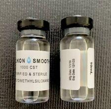 Silicon Oil 1000 - 10ml / vial - Sterile - 10 Bottles