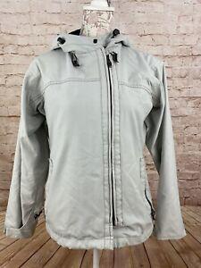 VOLCOM Transition Women's Snowboard Jacket 5000mm 7000gm Gray Size S