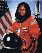 WHOOPI GOLDBERG SIGNED AUTOGRAPHED 8x10 w/ NASA Space Program