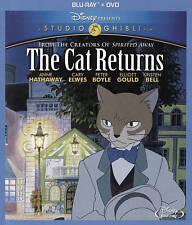 The Cat Returns (Blu-ray/DVD, 2015, 2-Disc Set) BRAND NEW w/ SLIPCOVER!!