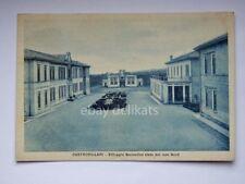 CASTROVILLARI villaggio scolastico nord Cosenza vecchia cartolina