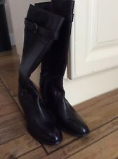 New ladies brown quality leather boots size 6.5