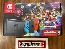 Nintendo Switch Console Mario Kart 8 Deluxe Bundle Blue/Red Joy-Con  IN HAND  🔥