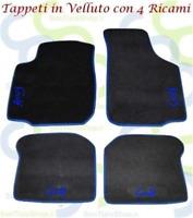8 FIX Tappeti Tappetini Auto su misura per A3 2003-12 in Velluto agugliato