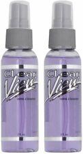 2oz Clear View Premium AR-Coated Anti-Streak Anti-Static Lens Cleaner Spray