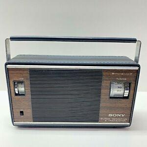 Vintage Sony Super Sensitive 9 Transistor Radio 6R-33, Made In Japan, Tested