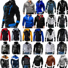 Mens Casual Hooded Sweatshirt Hoodies Sportswear Winter Sweater Pullover Tops UK